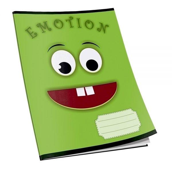 Caiet capsat Emotion, A5, 48 file, matematica