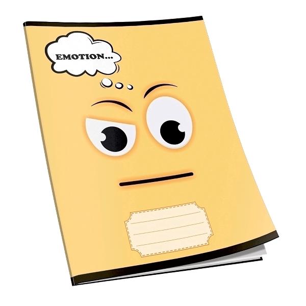 Caiet capsat Emotion, A5, 80 file, matematica