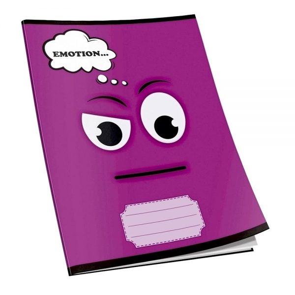 Caiet capsat Emotion, A5, 80 file, dictando