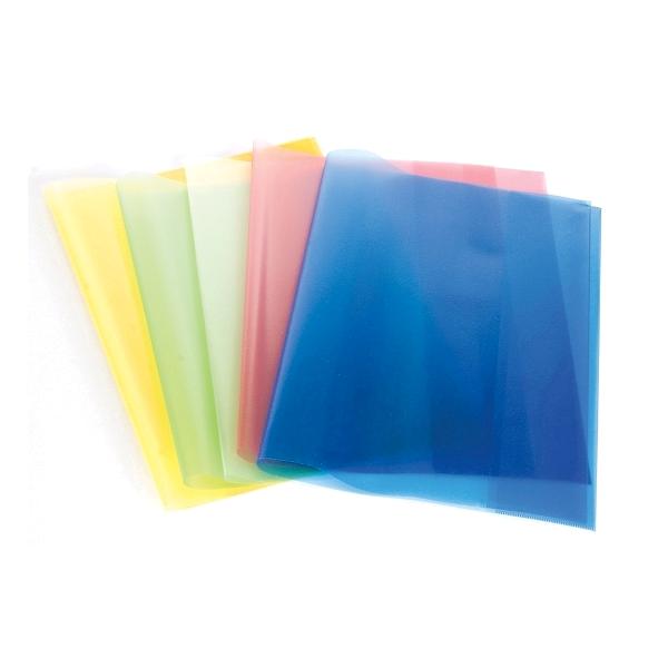 Coperta carte, diverse culori, 10 bucati/set