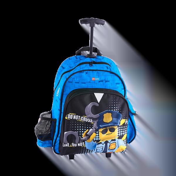 Troller/rucsac LEGO V-Line - design City Police