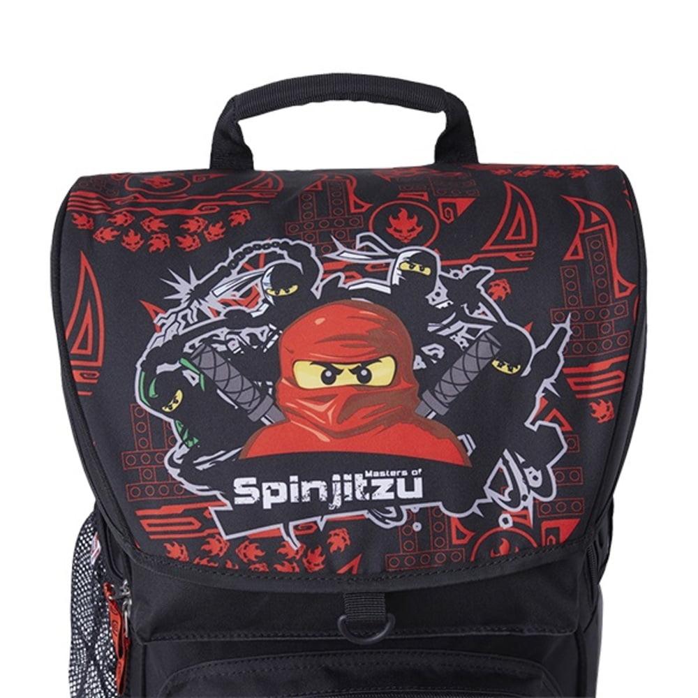 Ghiozdan scoala Maxi + sac sport LEGO Core Line - design NinjaGo Team Ninja