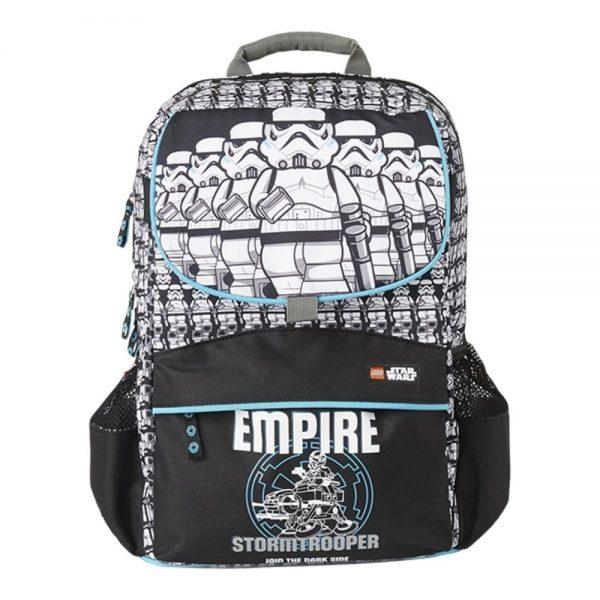 Ghiozdan scoala Starter Plus LEGO Core Line - design Star Wars Stormtrooper