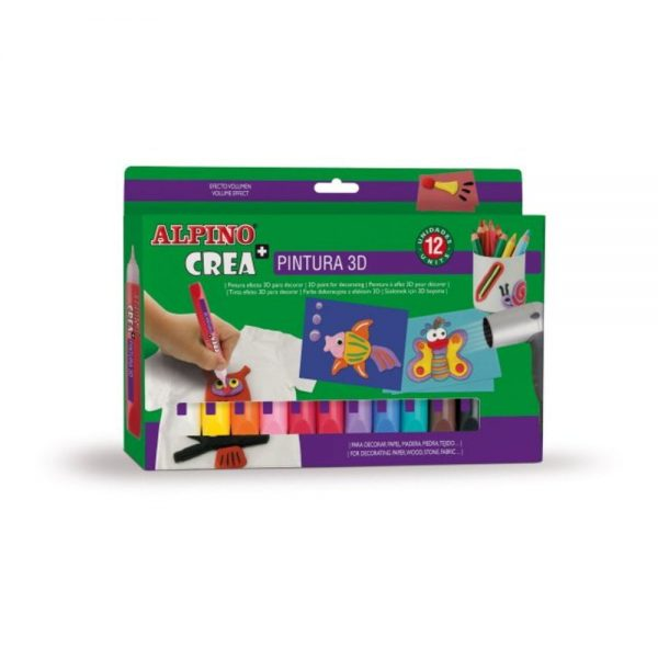 Set ALPINO Crea + 3D Paint