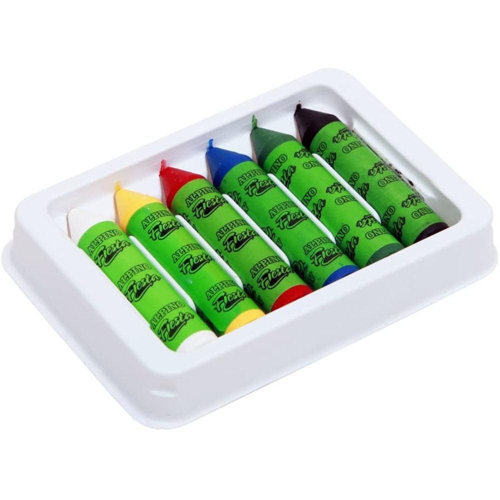Creioane machiaj 6 culori/cutie, ALPINO Sport
