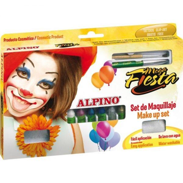 Creioane machiaj 5gr., 12 culori/cutie, ALPINO Mega Fiesta