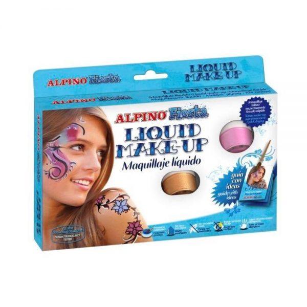 Make-up lichid 8 culori x 10 gr, ALPINO Fiesta