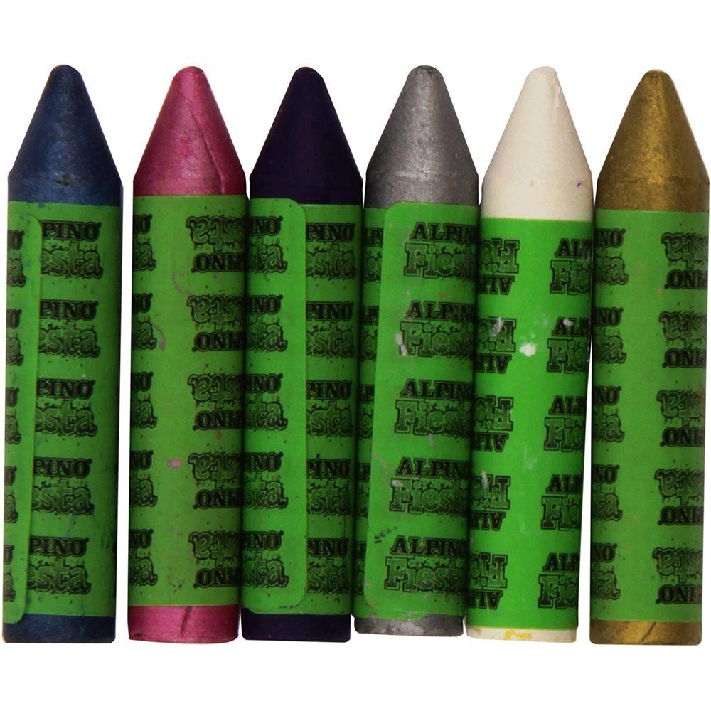 Creioane machiaj 6 culori/cutie, ALPINO Princess