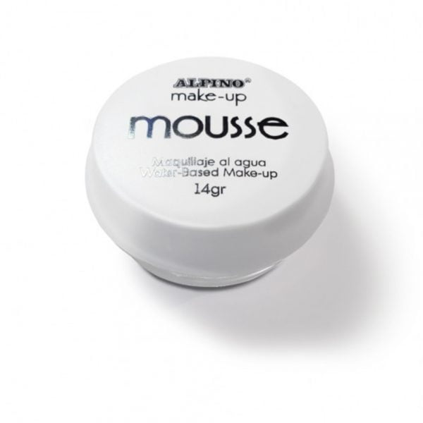 Spuma machiaj, 14gr., ALPINO Make-Up Mousse - alba