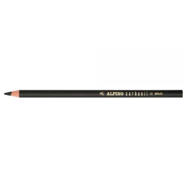 Creion cu mina grafit, pentru desene si schite, ALPINO Carbonil