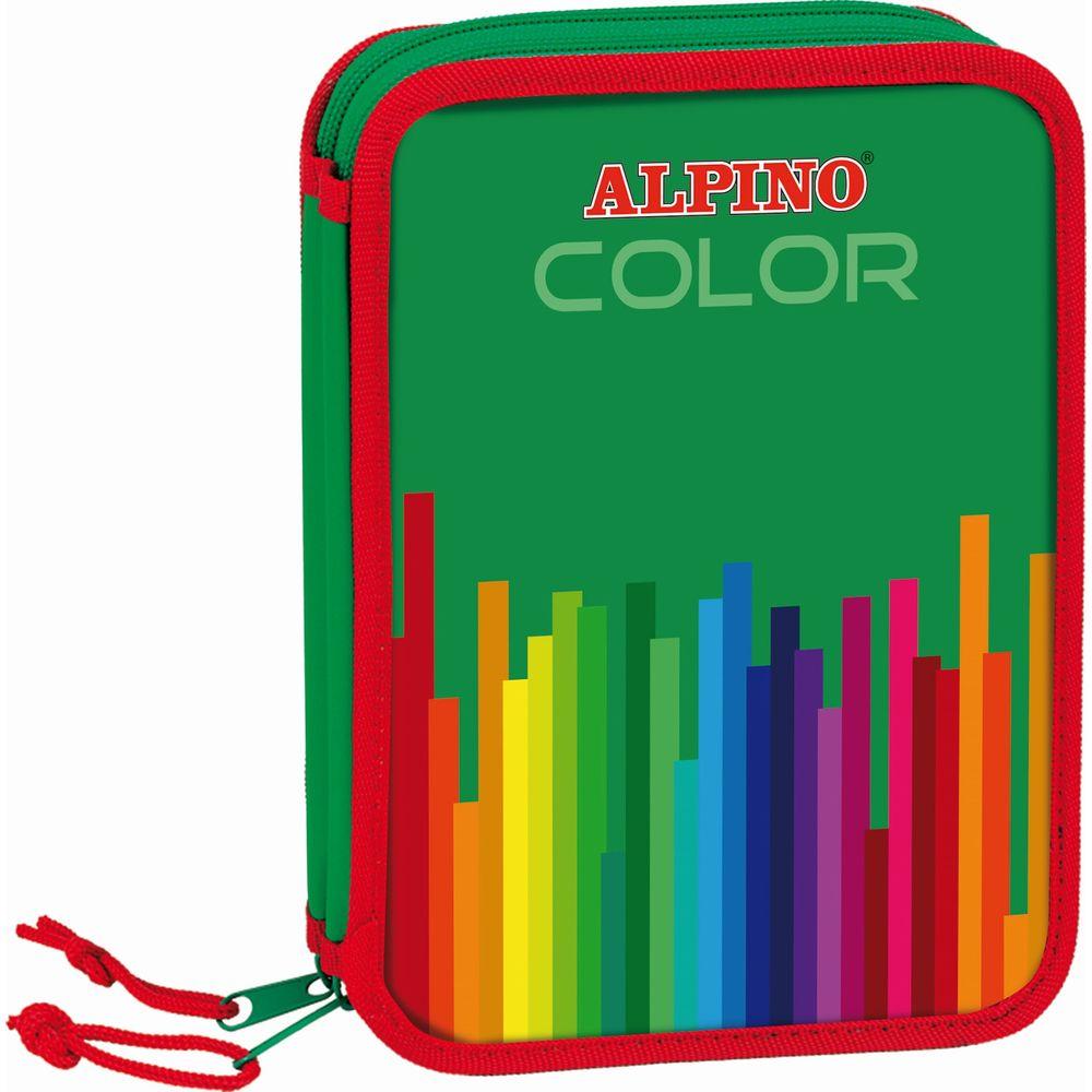 Penar dublu cu 2 fermoare, echipat, ALPINO Colors