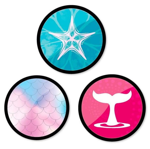 Insigne, 3buc/set, Roller NIKIDOM - Oceania