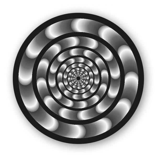 Abtibilduri roti, 2buc/set, Roller NIKIDOM - Hypnotic