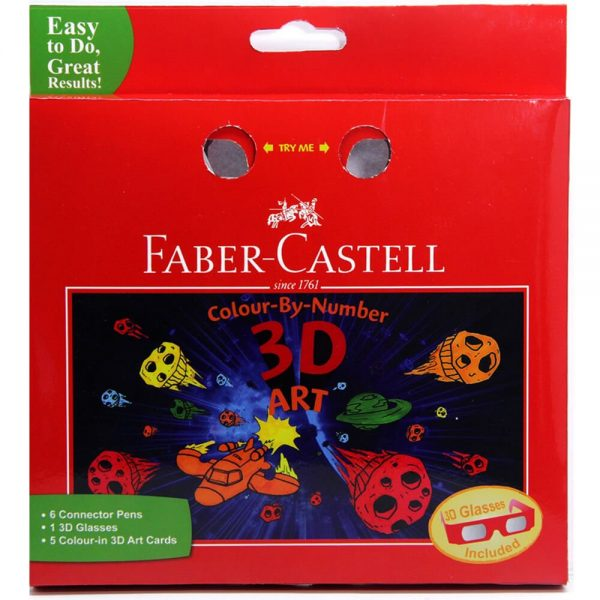 Set cadou 6 carioci Connector 3D Art Faber-Castell
