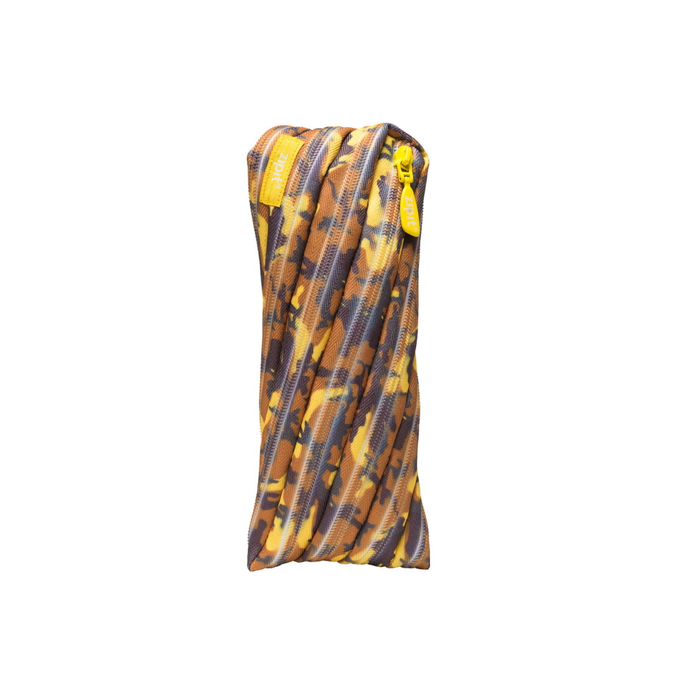 Penar cu fermoar, ZIPIT Camouflage - albastru cu galben