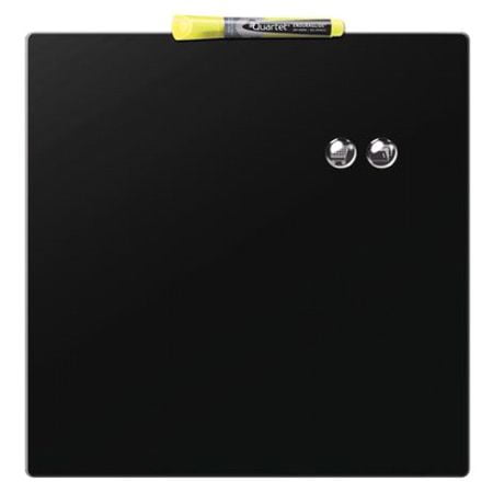 Tabla magnetica patrata 36 x 36 cm negru Nobo