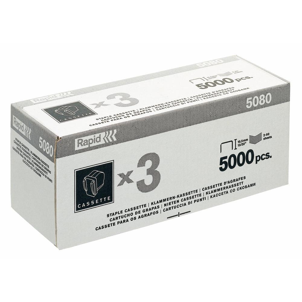 Caseta Capse RAPID 5080, 5.000 capse/caseta