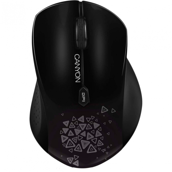 Mouse wireless Canyon CNS-CMSW4B, 1280dpi, Negru