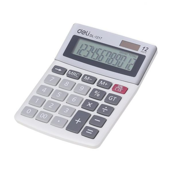 Calculator de birou 12 digiti Deli1217