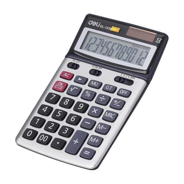 Calculator de birou 12 digiti Deli 1239