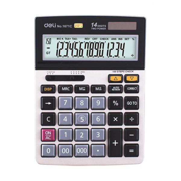 Calculator de birou 14 digiti Deli 1671C