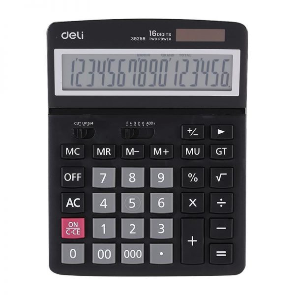 Calculator de birou 16 digiti Deli 39259
