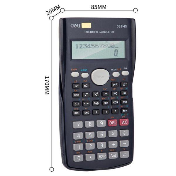 Calculator stiintific 12 digiti 240 functii 82MS Deli