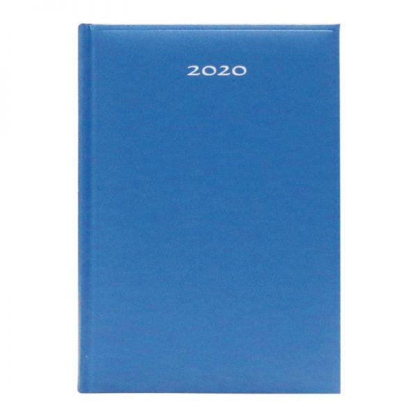Agenda A5 2020 datata Artibest, coperta albastru