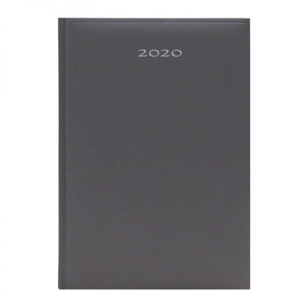 Agenda A5 2020 datata Artibest, coperta gri inchis