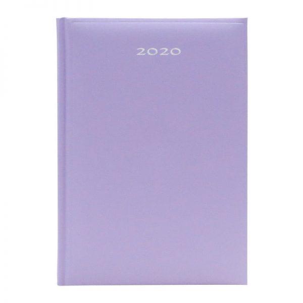 Agenda A5 2020 datata Artibest, coperta lila