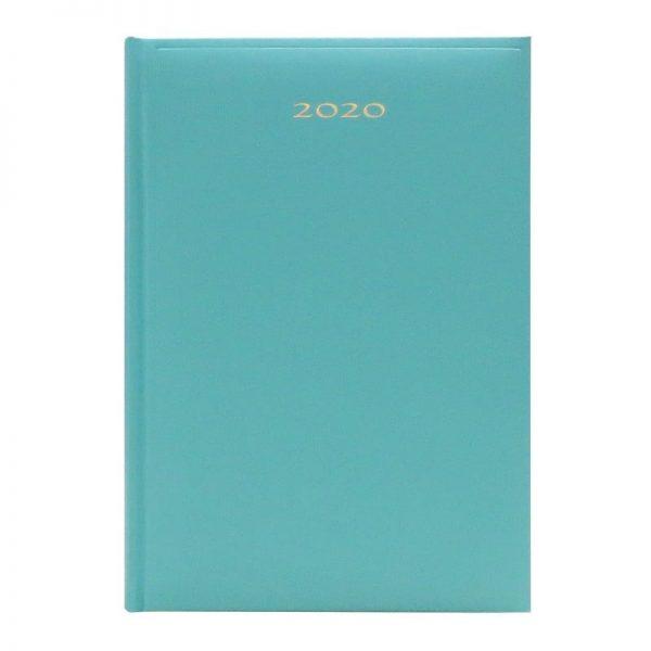 Agenda A5 2020 datata Artibest, coperta verde pal