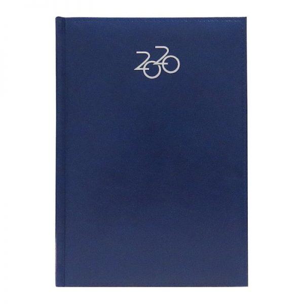 Agenda A5 2020 datata Artilux, coperta albastru
