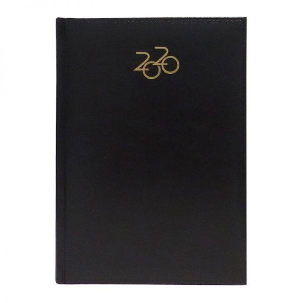Agenda A5 2020 datata Artilux, coperta negru
