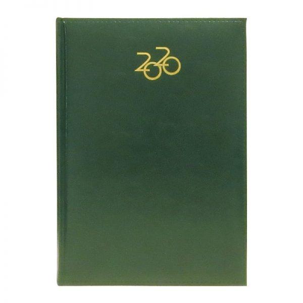 Agenda A5 2020 datata Artilux coperta verde