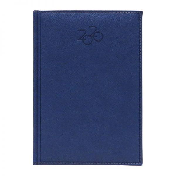 Agenda A5 2020 datata Dakota, coperta bleu