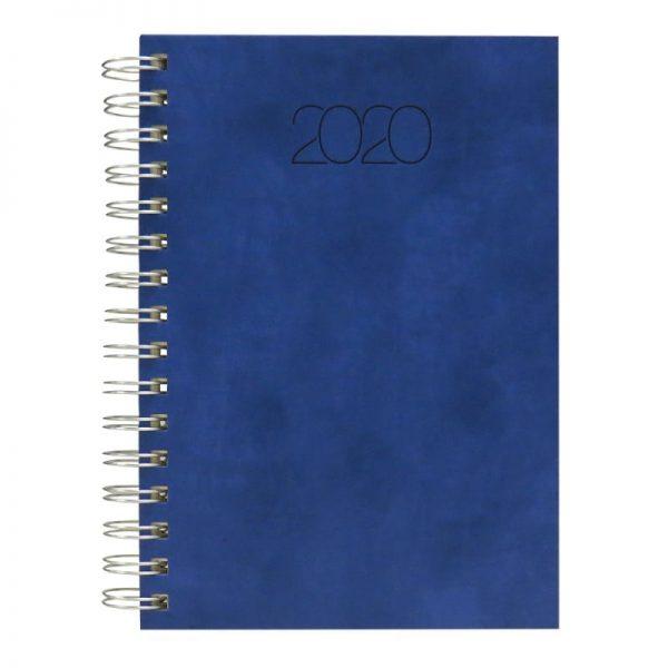 Agenda A5 2020 datata Nuance, coperta bleu