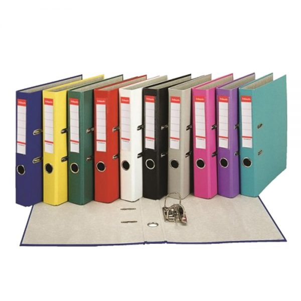 Biblioraft plastifiat A4 Esselte Economy, 50 mm, PP