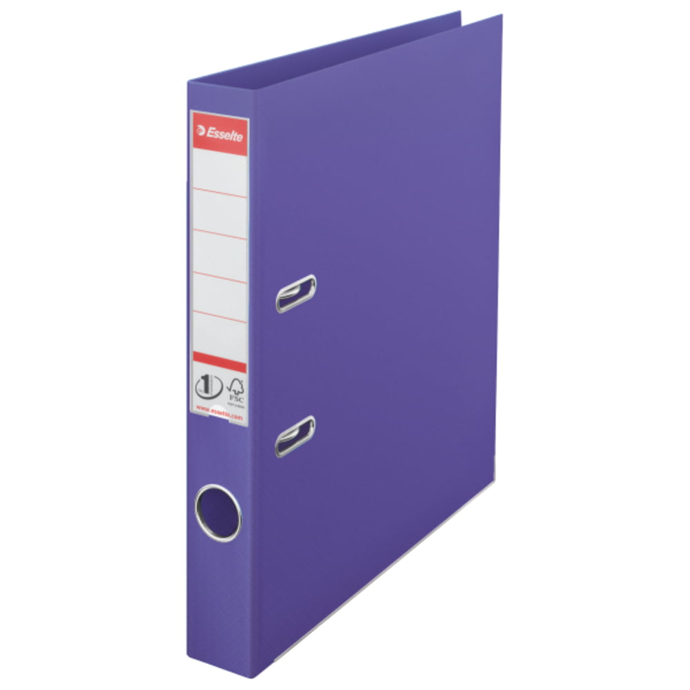 Biblioraft plastifiat 5 cm ESSELTE NO. 1 Power