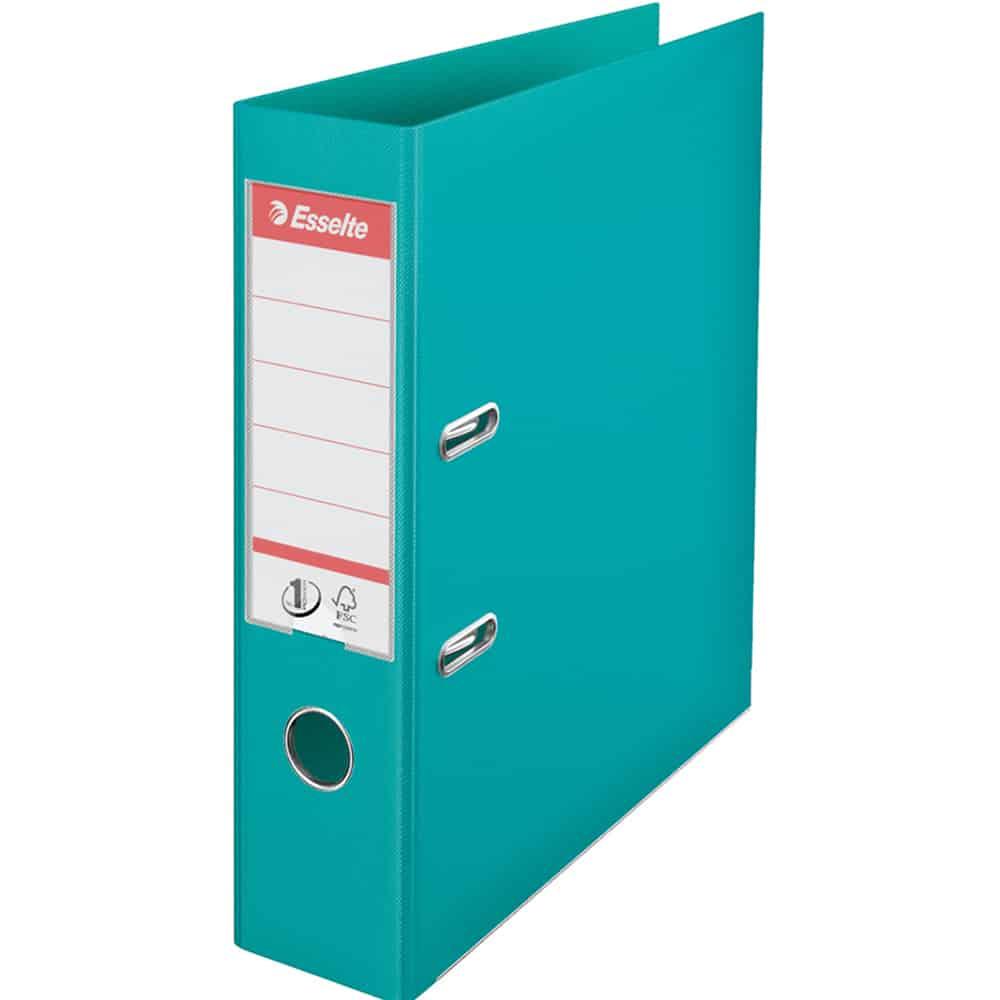 Biblioraft plastifiat 7.5 cm ESSELTE NO. 1 Power