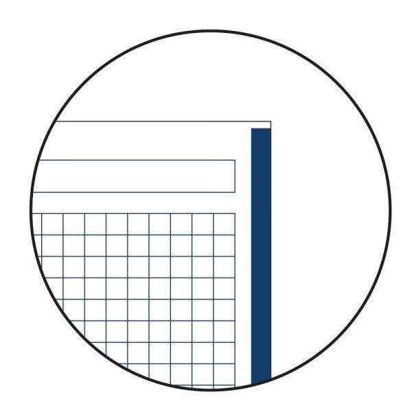 Caiet cu spira matematica A4, Miquelrius, Emotion, 80 file, coperta carton dur