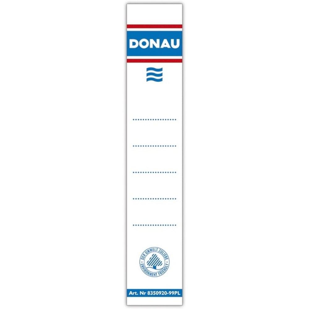 Etichete pentru biblioraft 50 mm , dubla fata, 20/set, DONAU