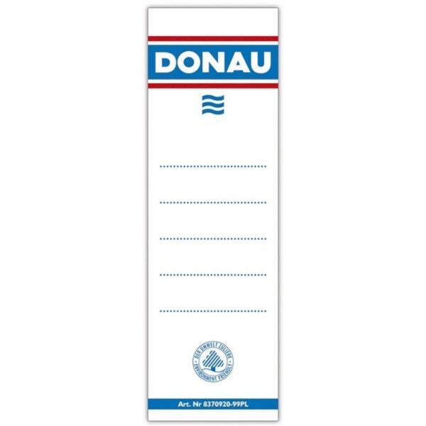 Etichete pentru biblioraft 75 mm , dubla fata, 20/set, DONAU