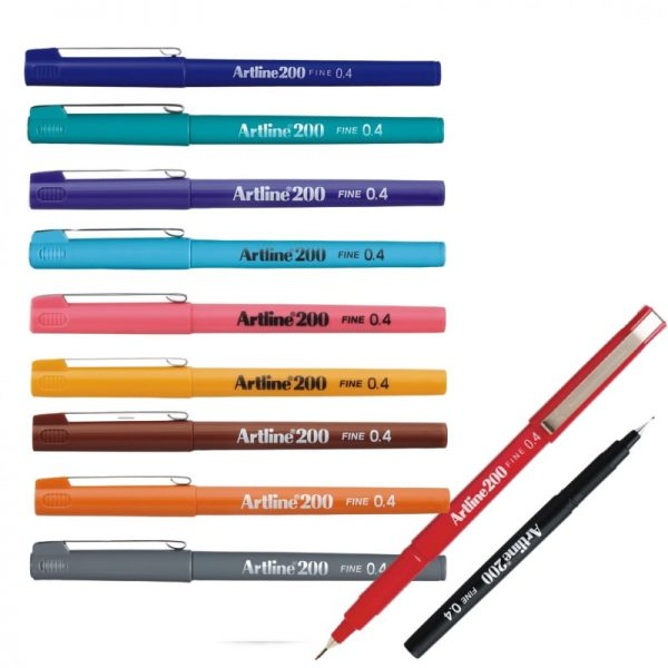 Liner ARTLINE 200, varf fetru 0.4mm