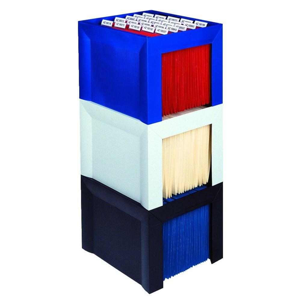 Suport plastic pentru 35 dosare suspendabile, HAN Karat