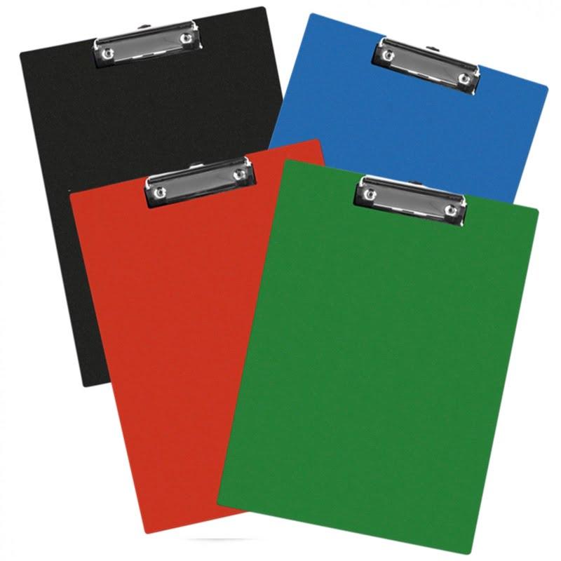 Clipboard simplu A5, plastifiat PVC, Q-Connect