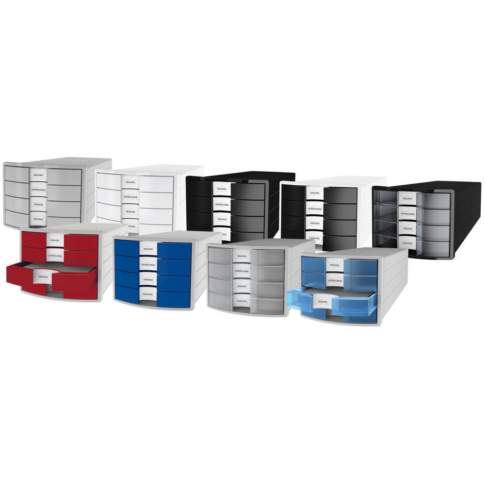 Suport pentru documente cu 4 sertare inchise Han Impuls