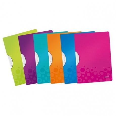 Dosar de prezentare cu clips, A4, Leitz WOW Color Clip