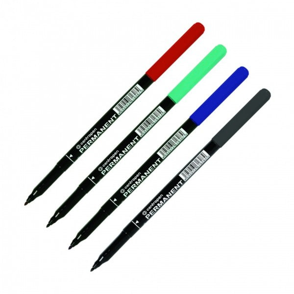 Marker permanent 1.0 mm Centropen 2536