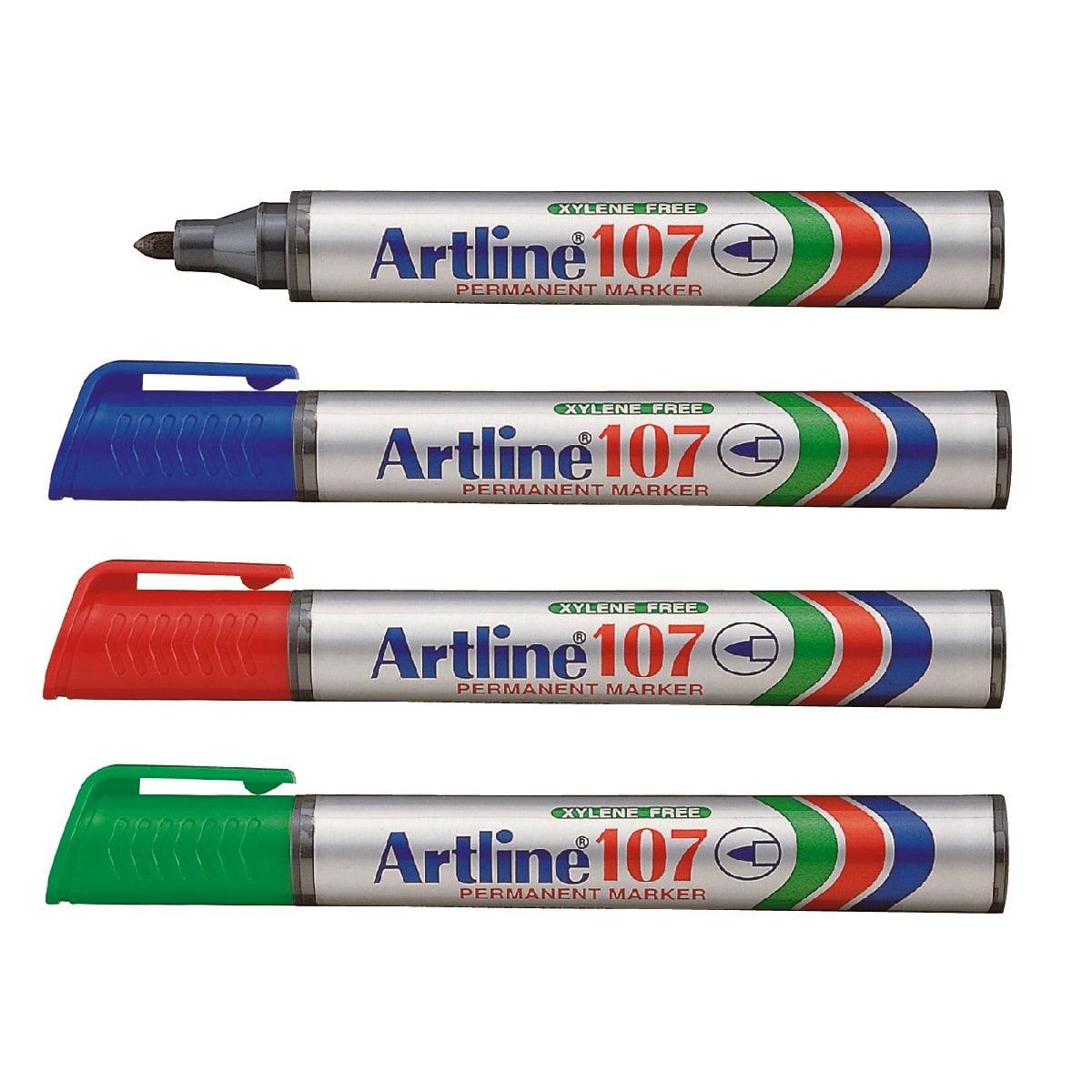 Marker permanent ARTLINE 107,varf rotund 1.5mm