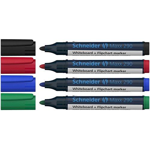 Marker whiteboard si flipchart, SCHNEIDER Maxx 290